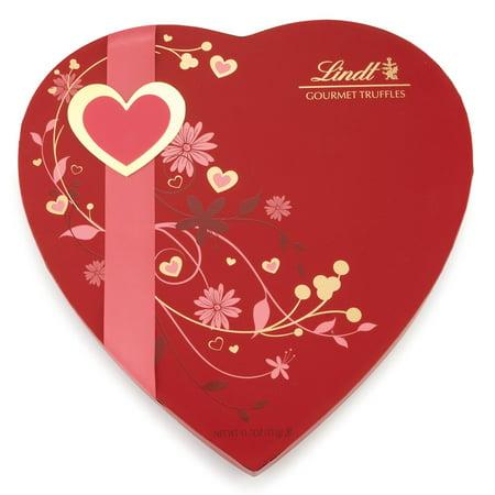 Lindt Valentine Gourmet Truffles Heart