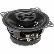 """PowerBass S-4002 4"""" Coaxial OEM Speakers, Set of 2, Black"""