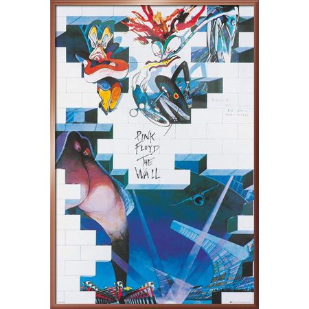 Pink Floyd's The Wall - Framed Music / Movie Poster / Print (Movie Poster Design) (Size: 24