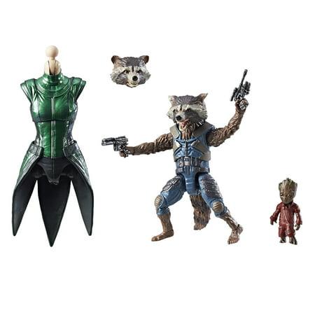 Marvel Guardians of the Galaxy Legends Series Rocket Raccoon Rocket Collector Series