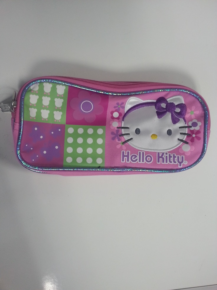 Pencil Case Hello Kitty Butterfly (Double Zippered Pouch) 630553 by Ruz