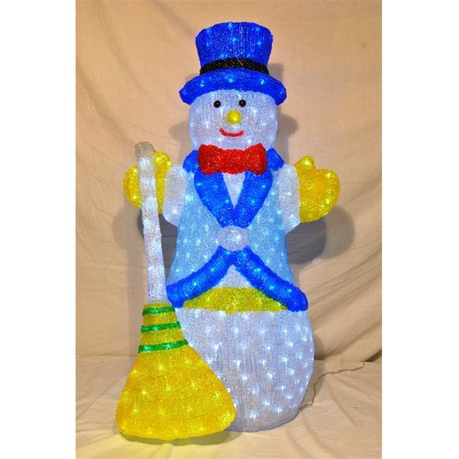 Winterland WL-FROSTY-39-LED 39 in. 3D Snowman Lit With Led