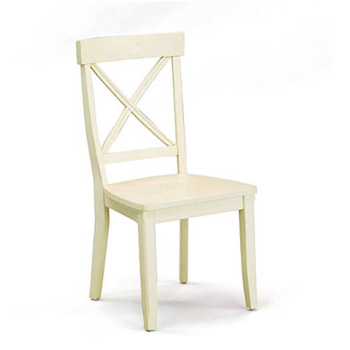 Home styles dining side chairs set of 2 white walmart com