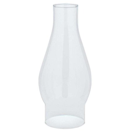 """8306200 Handblown Clear Glass Chimney - 7-1/2"""" high x 2-5/8 fitter, Features: Clear glass; Classic chimney shape; Handblown By Westinghouse"""