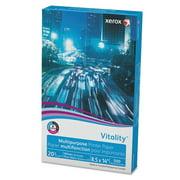 "Xerox Vitality Multipurpose Printer Paper, 8 1/2"" x 14"", White, 500 Sheets Per Ream"