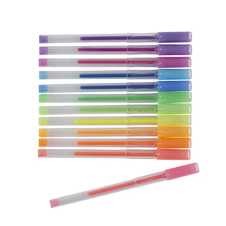 Pen + Gear Gel Pens in Plastic Case, 60 count, assorted color pack ...