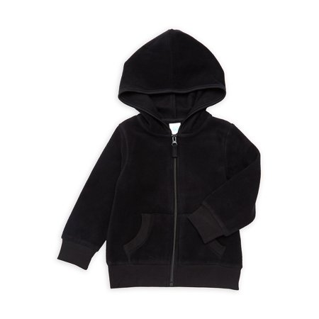 Little Boy's Zip Fleece Hoodie