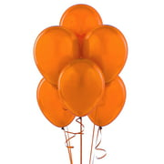 "24 Latex Balloons 12"" when inflated solid  - Orange"