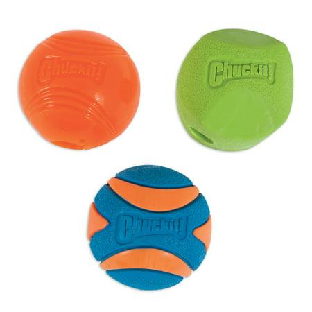 Chuckit! Fetch Medley Dog balls, 3 pack ()