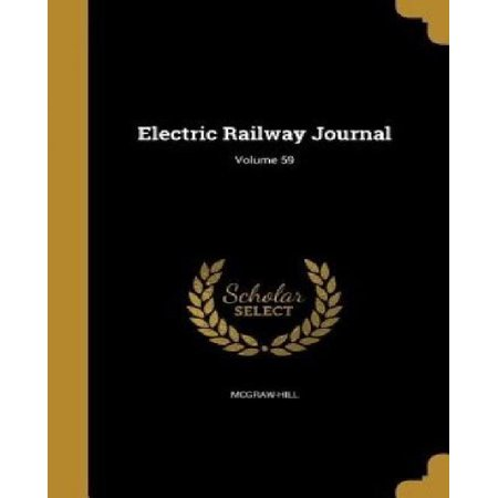 Electric Railway Journal; Volume 59 - image 1 of 1