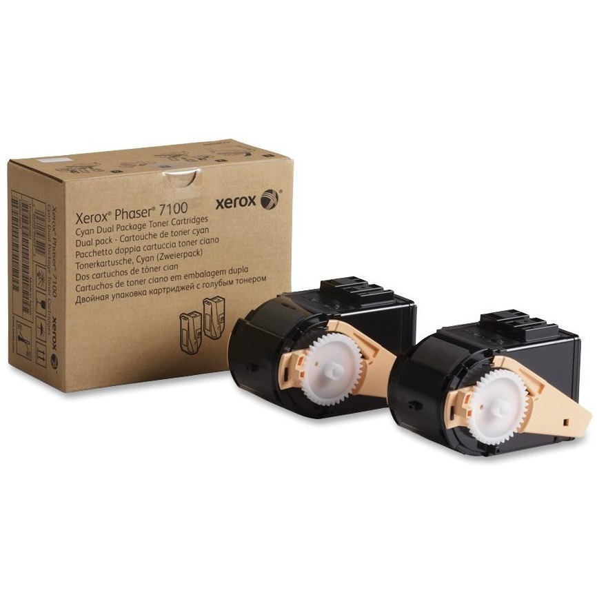 Xerox, XER106R02602, Phaser 7100 Dual Package Toners, 1 / Each