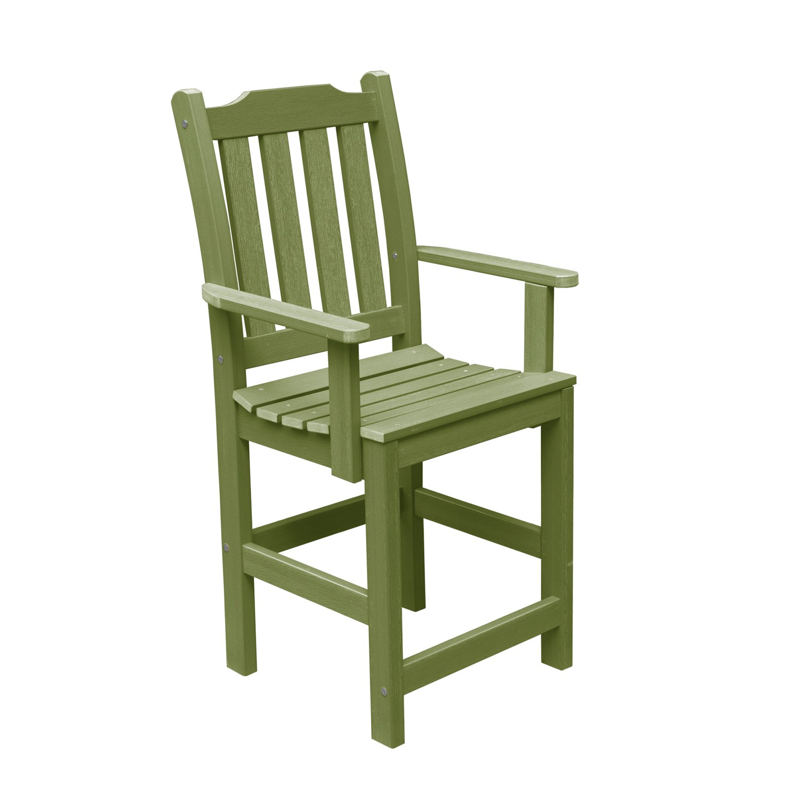 highwood® Eco-Friendly Recycled Plastic Lehigh Counter Armchair