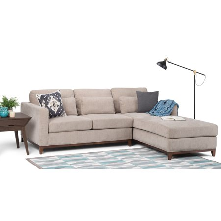 Stupendous Wyndenhall Arden Sectional Sofa With Chenille Fabric Pdpeps Interior Chair Design Pdpepsorg