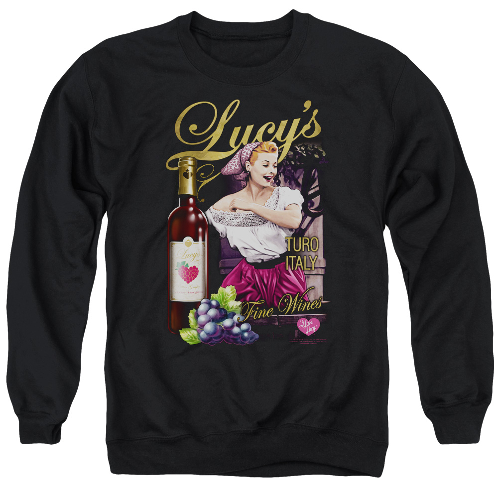 Lucy Bitter Grapes Mens Crewneck Sweatshirt