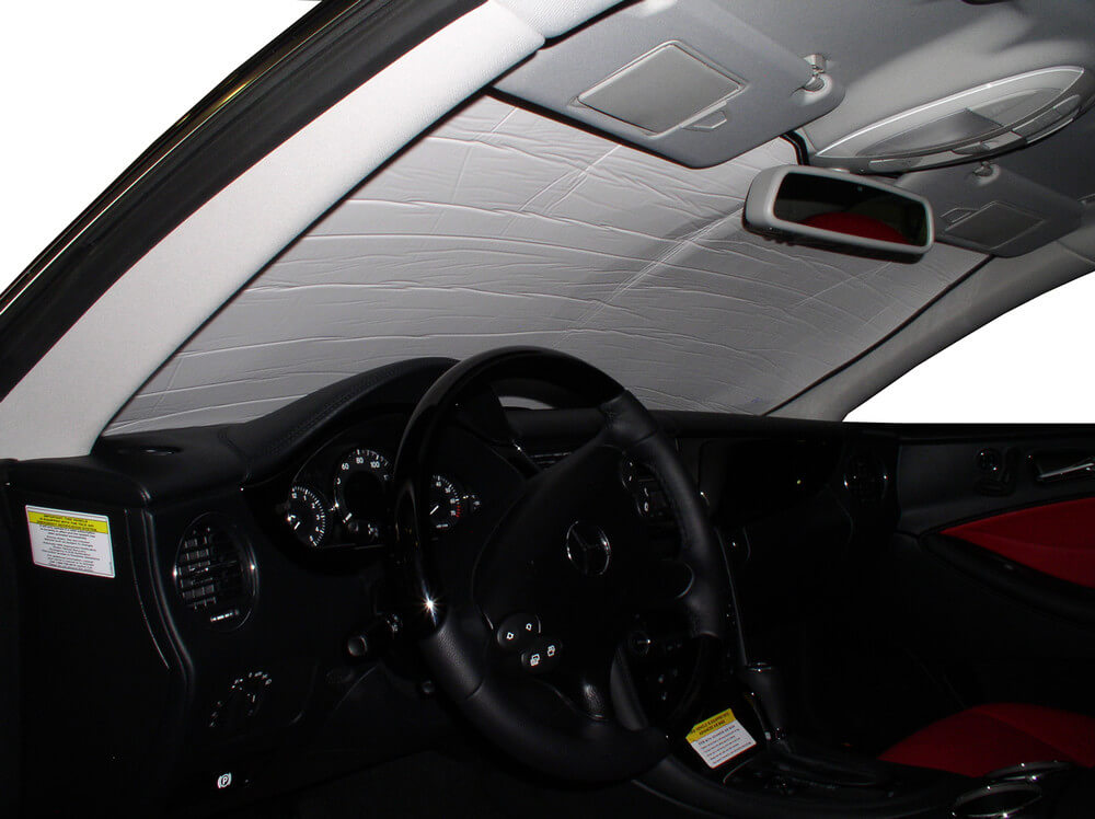 2013 Silver Series 2010 2014 2015 HeatShield The Original Windshield Sun Shade 2012 2011 2009 Custom-Fit for Smart Fortwo Coupe 2008