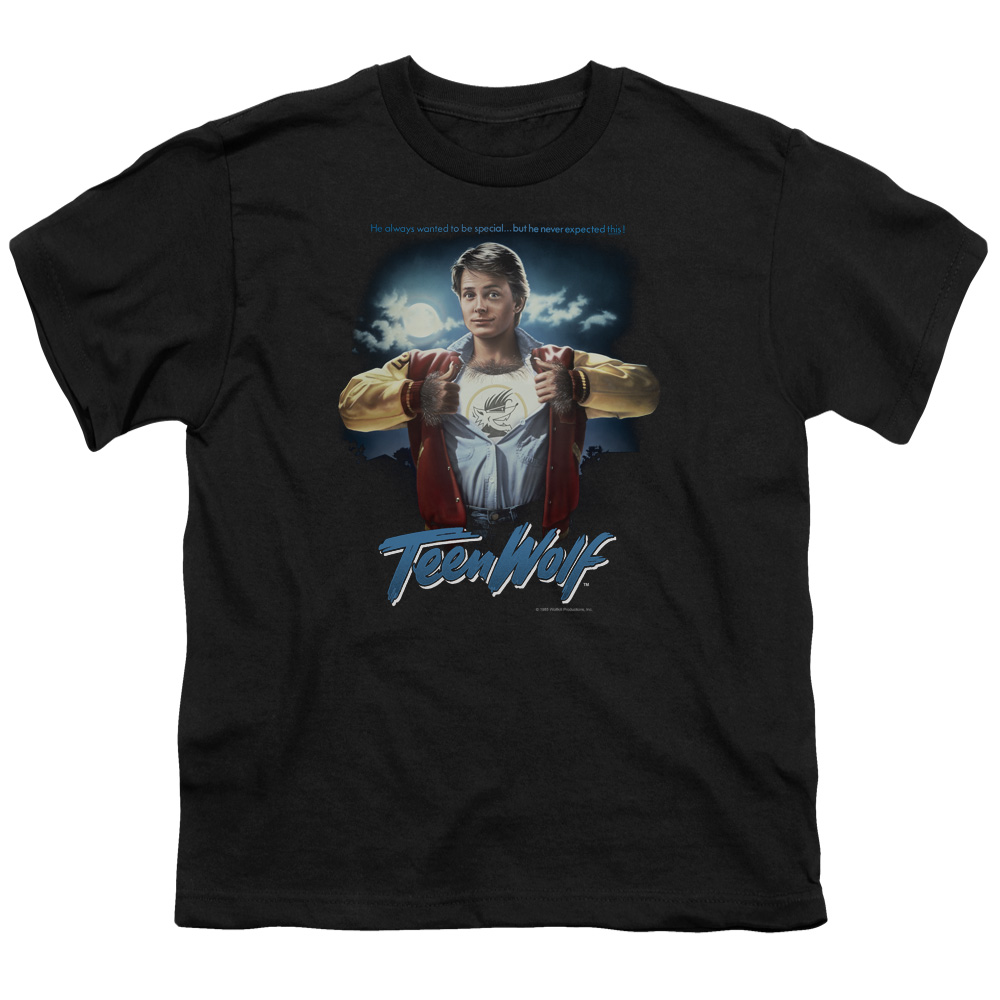 Teen Wolf Poster Big Boys Shirt
