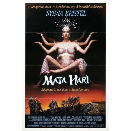 Mata Hari POSTER Movie B Mini Promo - Juan Mata Halloween