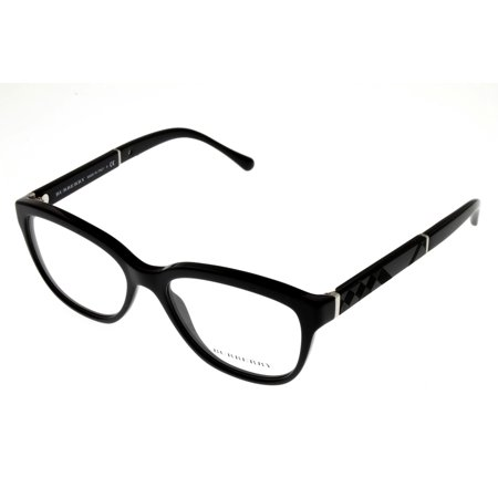 Burberry Prescription Eyewear Frames Men Rectangular Blue Horn BE2150 (Burberry Glasses Frames For Men)