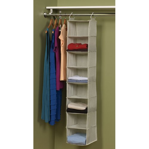 Household Essentials Tea and Fog 8 Pocket Hanging Organizer