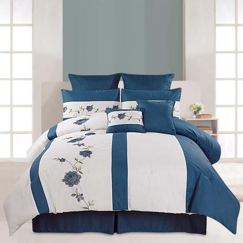 Luxury Home Saratoga 8 Piece Comforter Set