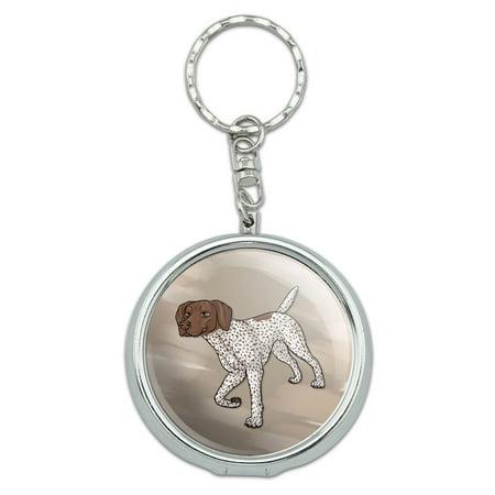 German Shorthaired Pointer Pet Dog Portable Ashtray Keychain ()