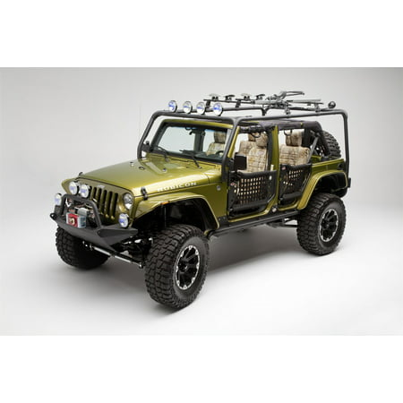 Body Armor JK-6124-1 Roof Rack Base Fits 07-16 Wrangler