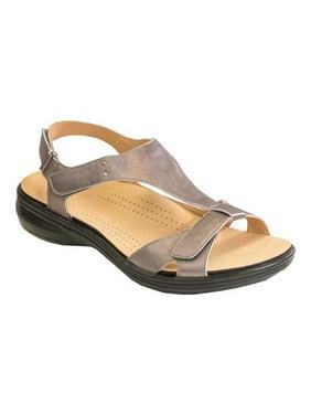 Women's Revere Comfort Shoes Santa Cruz T Strap Sandal