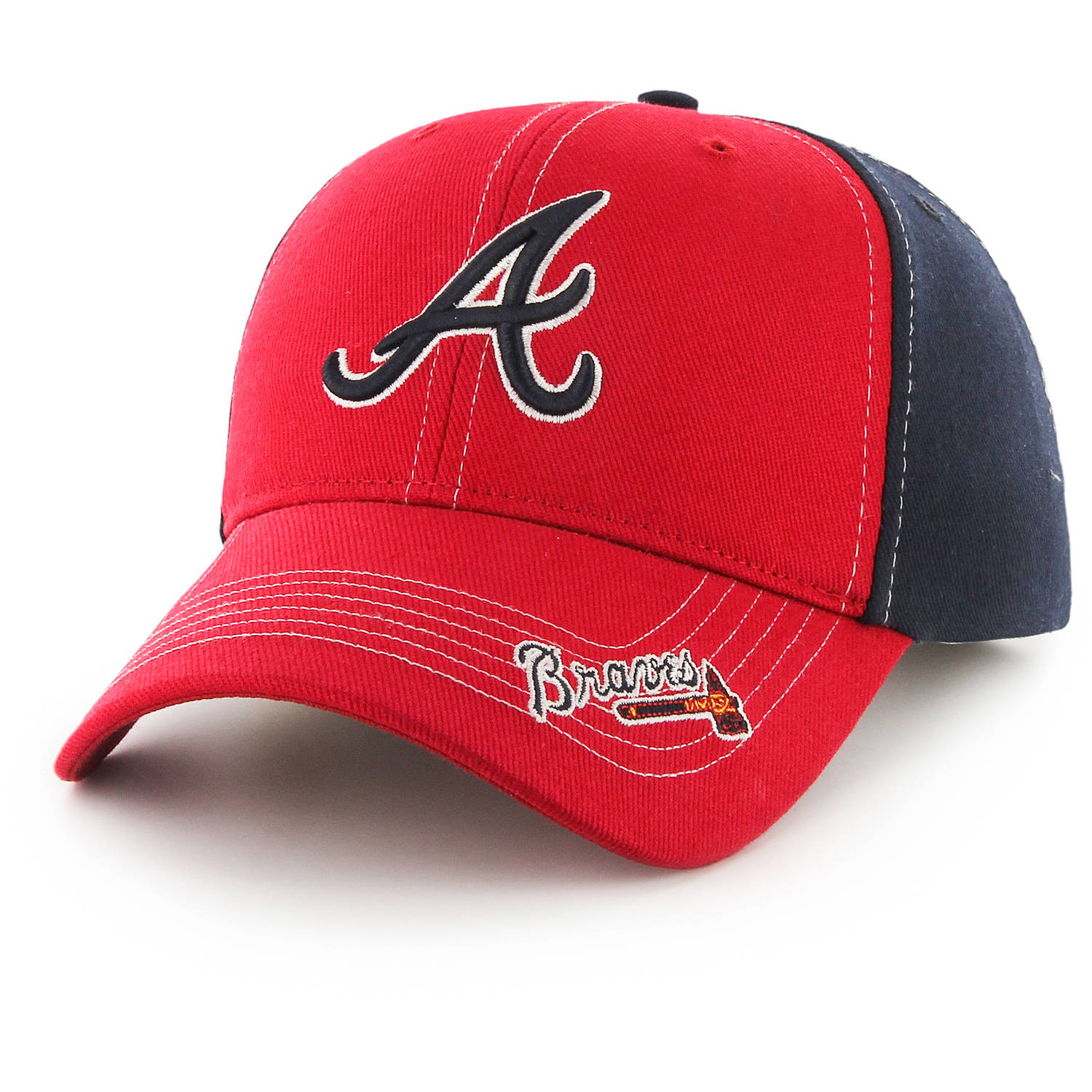 MLB Atlanta Braves Revolver Cap / Hat by Fan Favorite