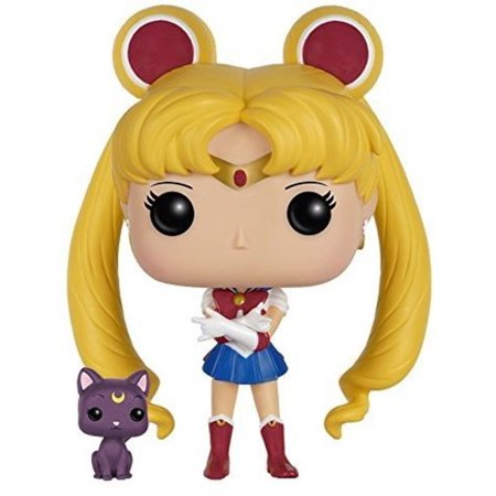 FUNKO POP! ANIMATION: SAILOR MOON - SAILOR MOON WITH LUNA