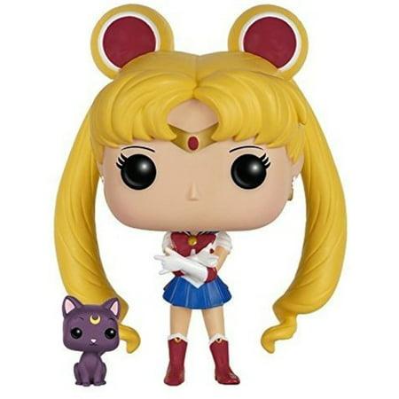 FUNKO POP! ANIMATION: SAILOR MOON - SAILOR MOON WITH LUNA - Halloween Sailor Moon
