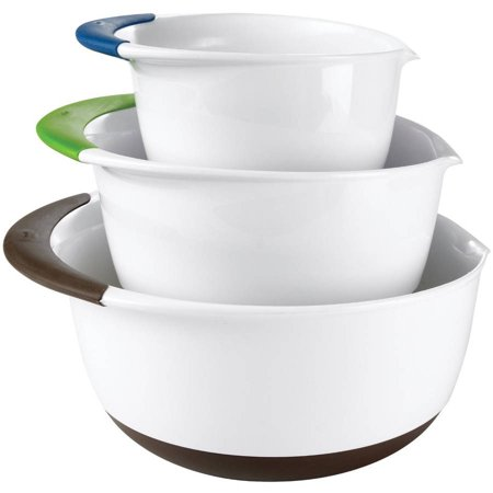 35295ec3bea Oxo Good Grips 3-piece Mixing Bowl Set - Walmart.com