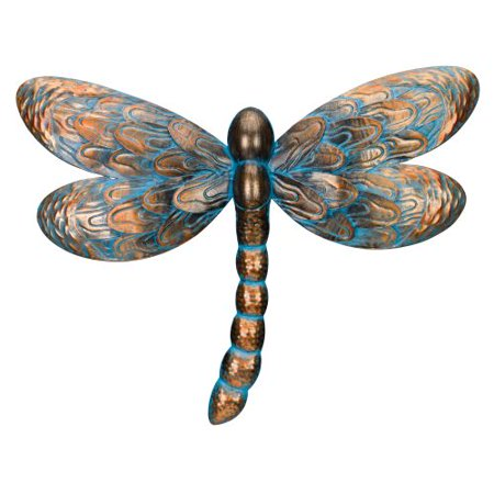 Regal Patina Dragonfly Wall Decor