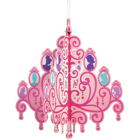 Disney Princess Hanging Chandelier Party Decoration, Party ...