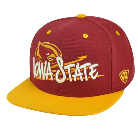 NCAA Iowa State Cyclones Youth Snapback Hat Cap Top of the World Hot - Iowa Cyclones