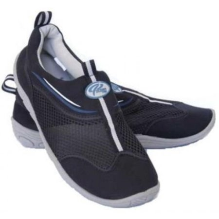 New Oceanic Neoprene Non-Slip Deck Shoe (Size 4) for all Watersports, Non-slip grey sole eliminates marking of boat decks By Ocean