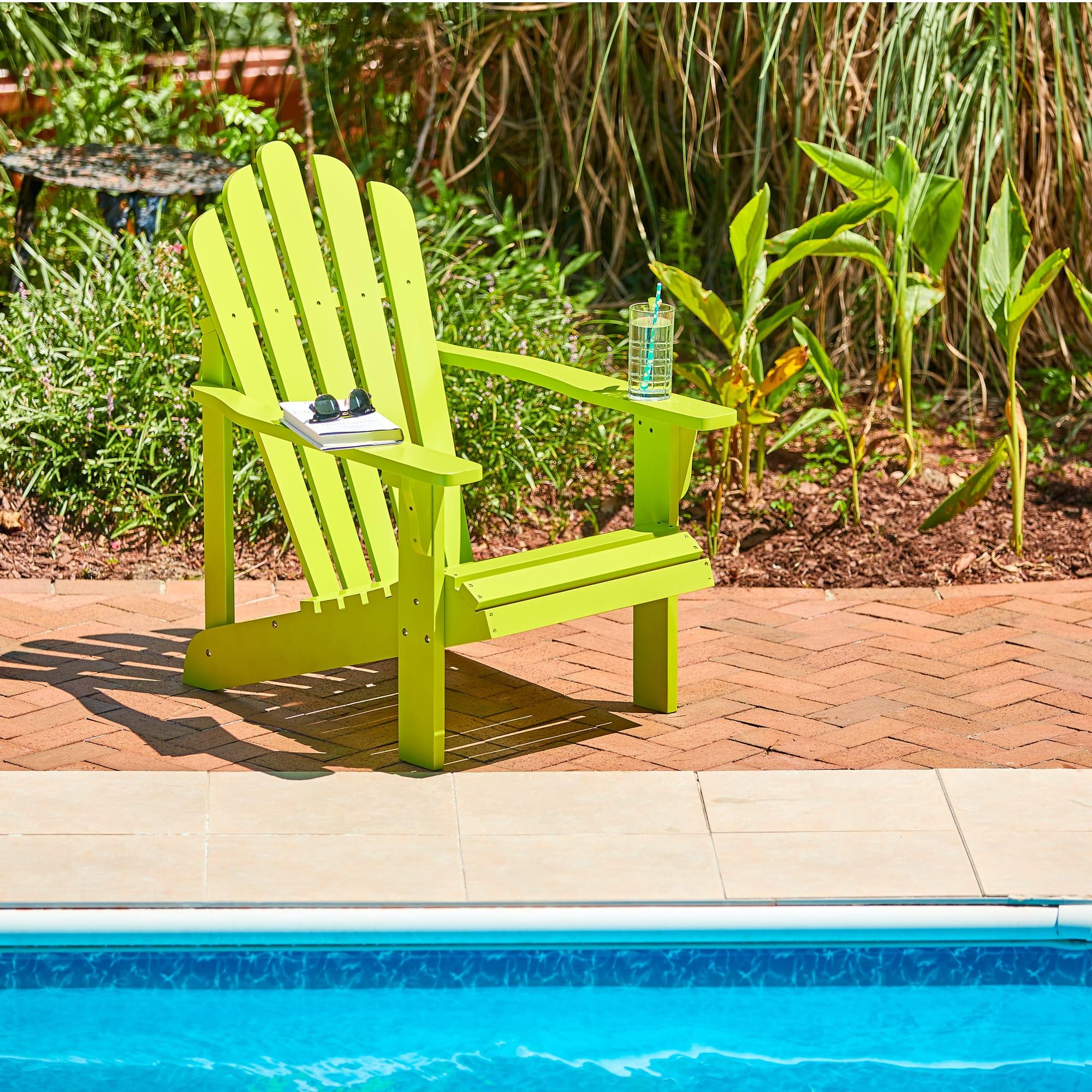 Shine Company Westport Adirondack Chair   Lime Green
