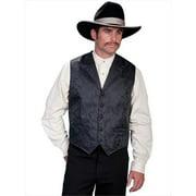 Scully RW145X-BLK-LT-B-T Rangewear 100 Percent Polyester Mens Firebreather Vest - Black, Large
