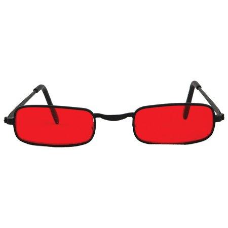 Morris Costumes Glasses Vampire Blk Red - Vampire Glasses