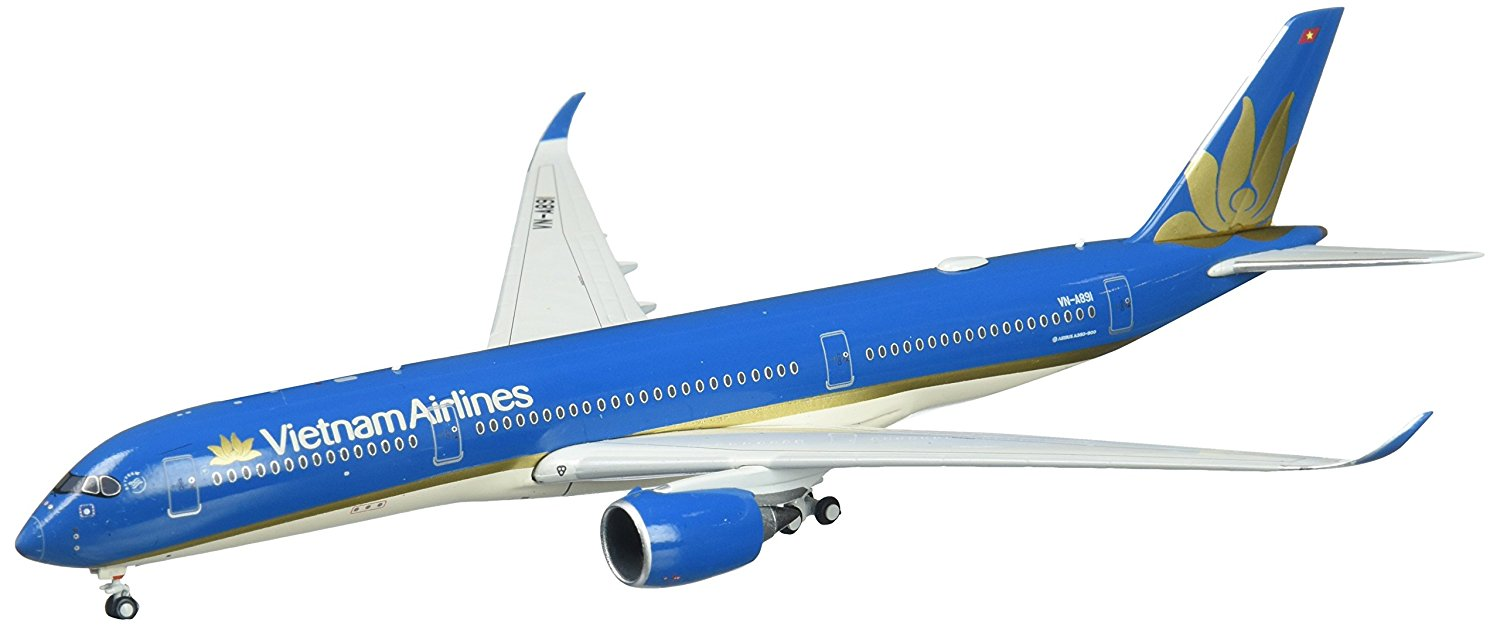 Gemini Jets Vietnam Airlines A350-900 VN-A891 1:400 Scale Diecast Model Airplane Die Cast Aircraft by DARON