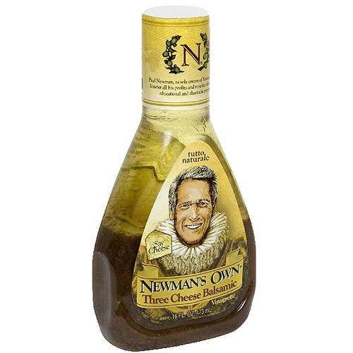 Newman's Own Three Cheese Balsamic Vinai