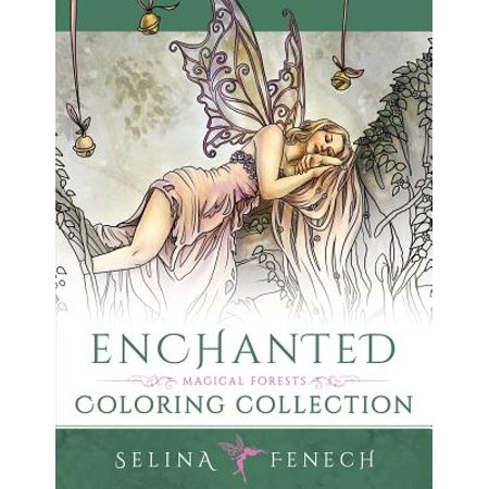 Enchanted - Magical Forests Coloring (Selina Fenech Fairies)