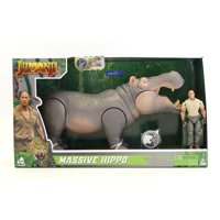 Jumanji - Massive Hippo With Figure