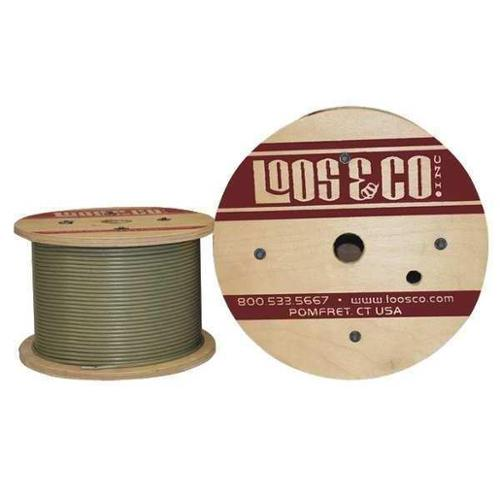 LOOS GC12579M1N Cable,250 ft.,Nylon,1/8 in.,400 lb. G2411790