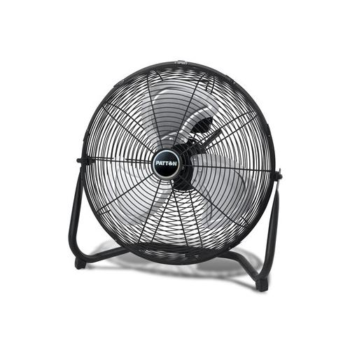 Patton PUF2010CBM 3-Speed High Velocity Floor Fan (Black)