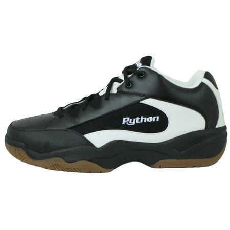 Python Wide (EE) Width Indoor Black Mid Size Racquetball (Squash, Badminton, Volleyball)