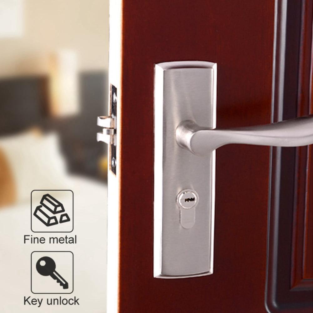 Tebru Bedroom Door Lock,Door Lock,Aluminium Alloy Interior ...
