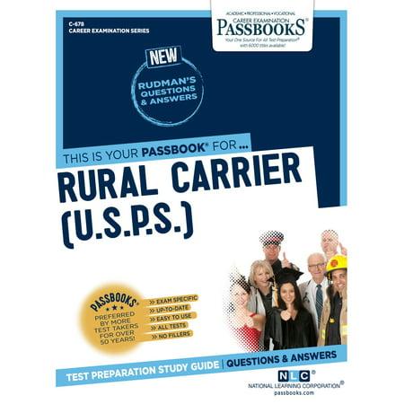 Usps Rural Carrier - Rural Carrier (U.S.P.S.) - eBook