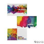 Watercolor Pocket Folders