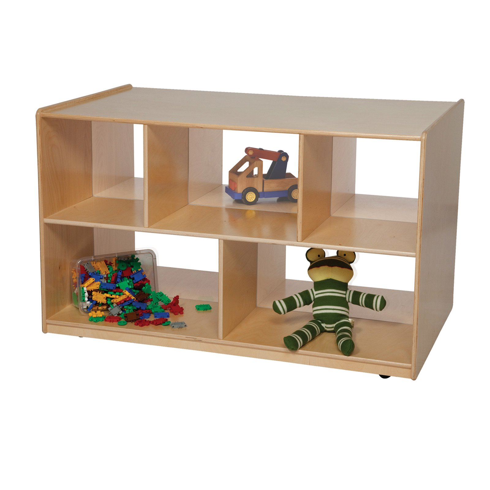 Wood Designs Double Storage Island with Acrylic - 30H in.