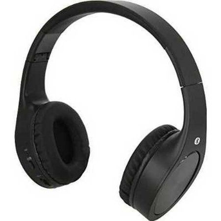 refurbished ilive iahb74mb wireless bluetooth headphones matte black. Black Bedroom Furniture Sets. Home Design Ideas